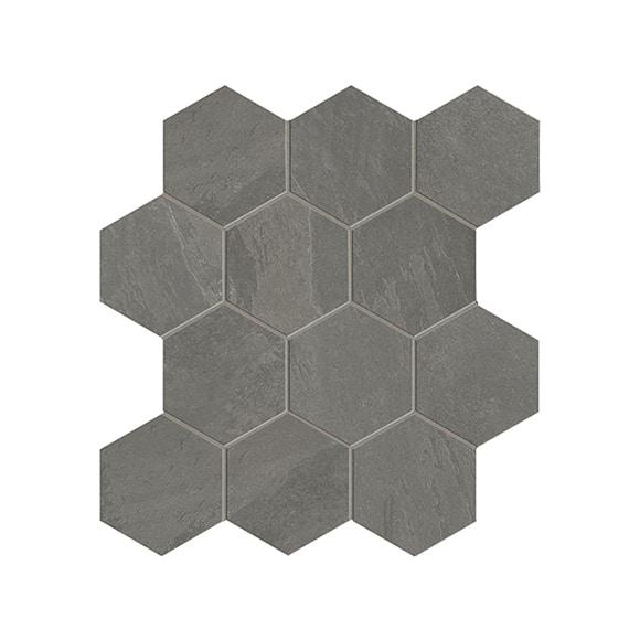 gentle stone mud hexagon matt mosaic wall floor tile