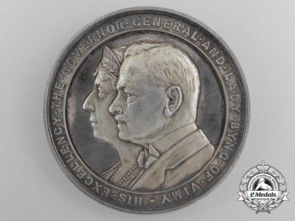 A Silver Canadian Governor General's Academic Medal 1921 ...