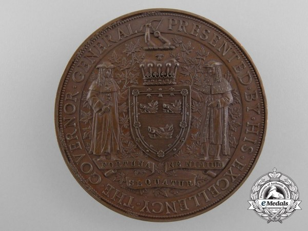 A Canadian Governor General's Academic Medal 1893-1898 ...