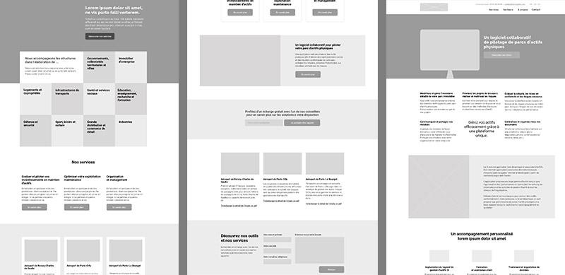 L'étape de wireframes dans la conception d'un site web