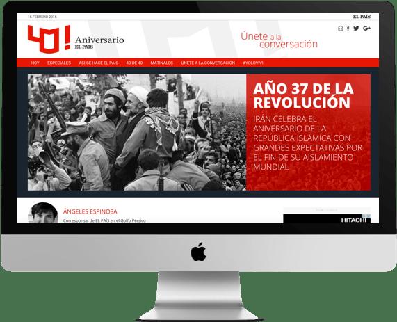 40 Aniversario El País