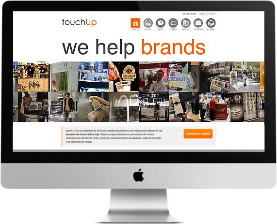 Web de TouchUp