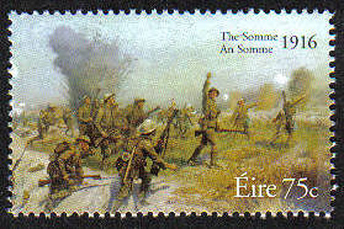 Ireland 2006 Battle Of The Somme Mnh Stamp
