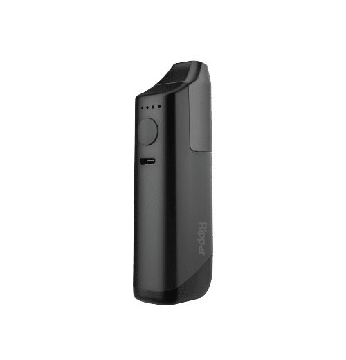 The Ripper Vaporizer battery body in the color black