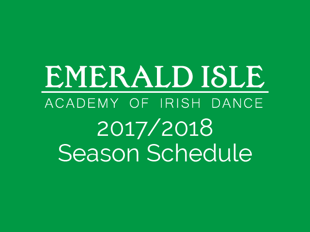 Read more about the article 2017/2018 Season Schedule Now Available!