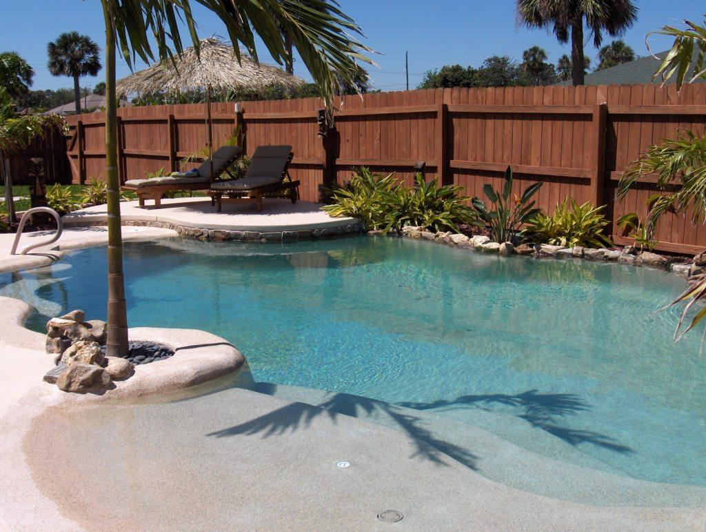 zero entry pool design