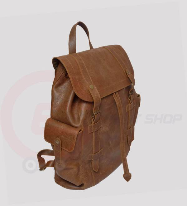Berliner-Leather-Backpack-for-man-and-women-side-view
