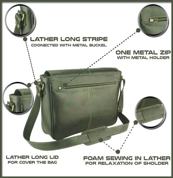 Green-laptop-bag-back-side-features