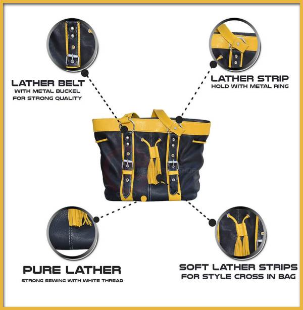Yellow-and-black-bag-front-side-features