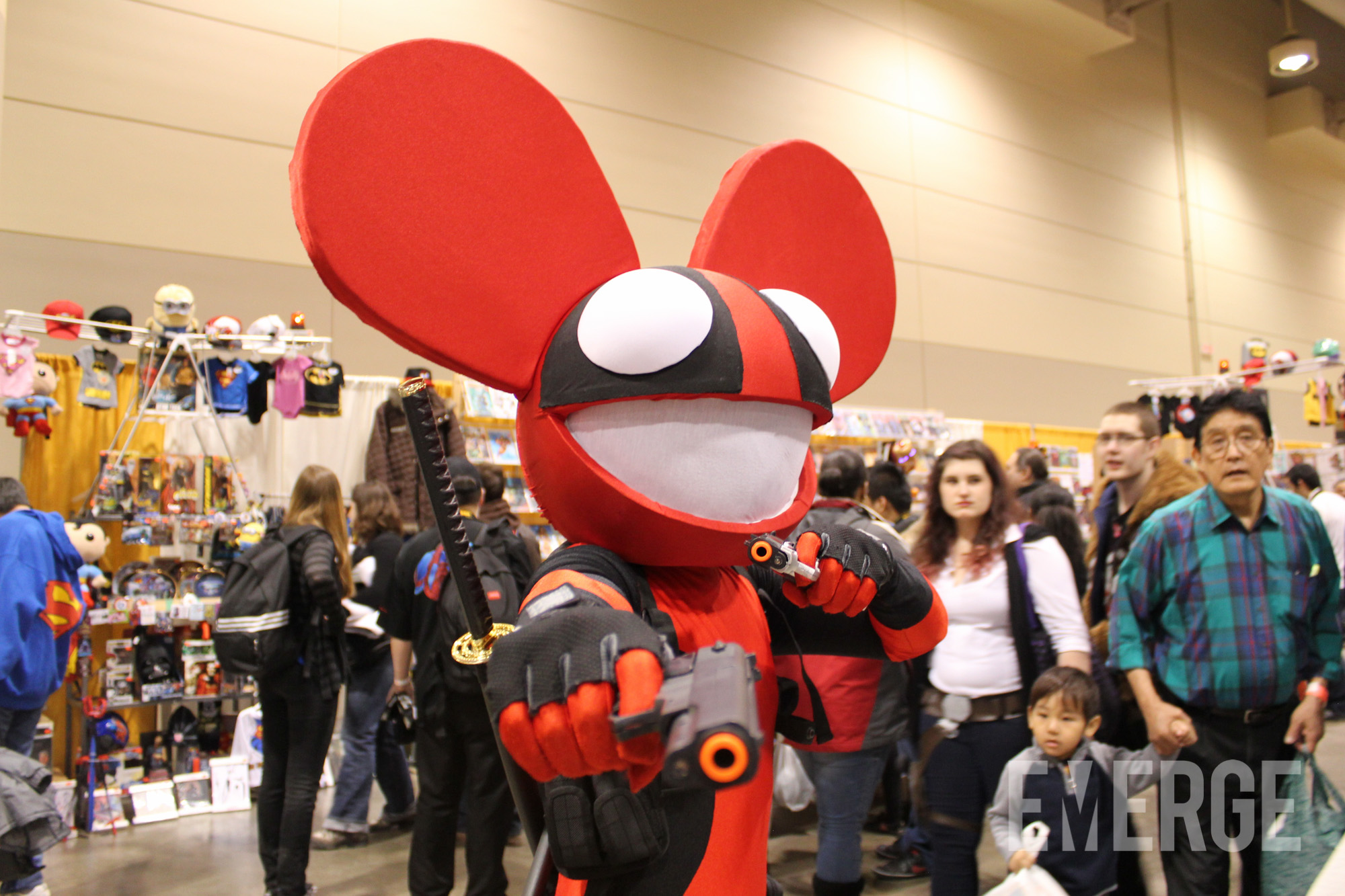Deadmau5 or Dead Pool? either way, this was just hilarious to see