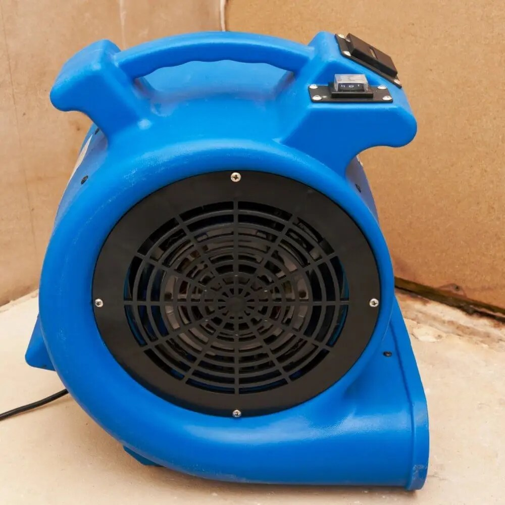 industrial carpet drying fan