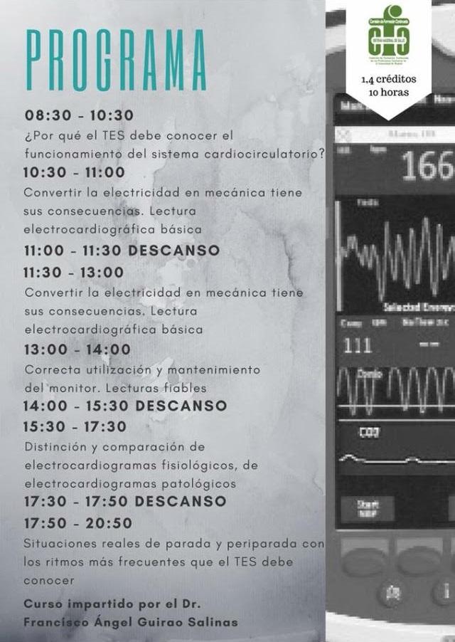 cronograma curso TES 1