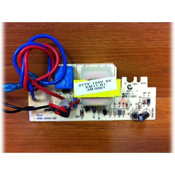 pc board transformer for r1