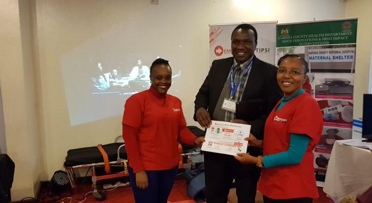 Dr Simon Kibias, MOH, launching Project 47 at the Kenya Health Forum 2018