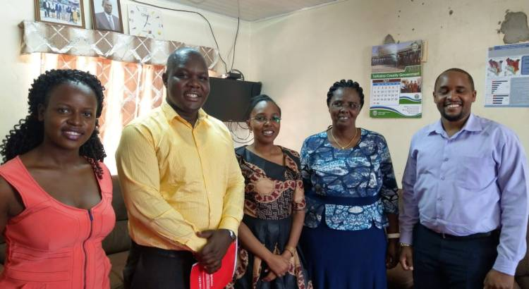 EMKF and the Health Team from Turkana County Project 47 Planning meeting