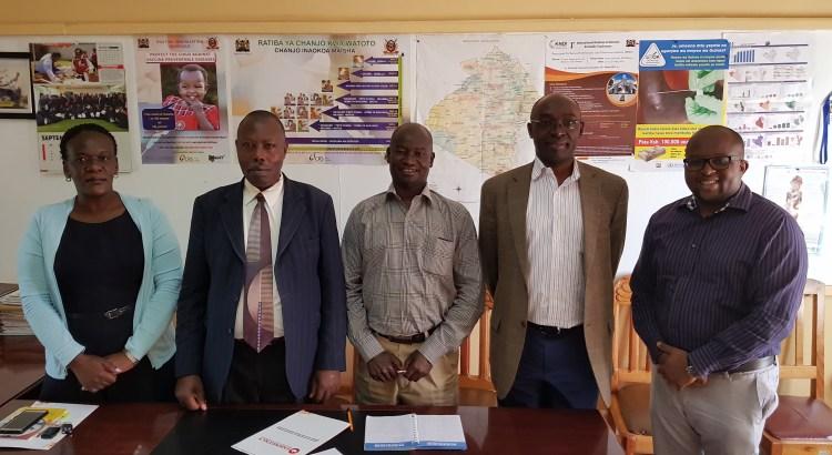 Narok County Health Team