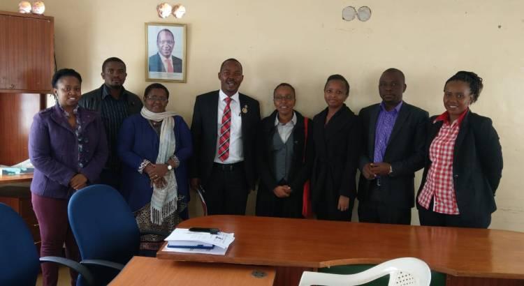 Muranga CEC for Health and the Health Team