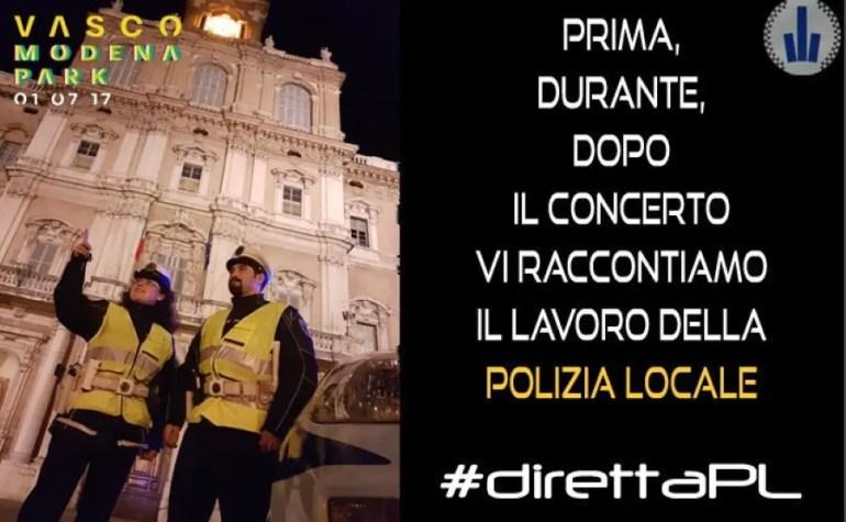 """PM Emilia Romagna: servizio pubblico """"social"""" per il concerto di Vasco Rossi"""