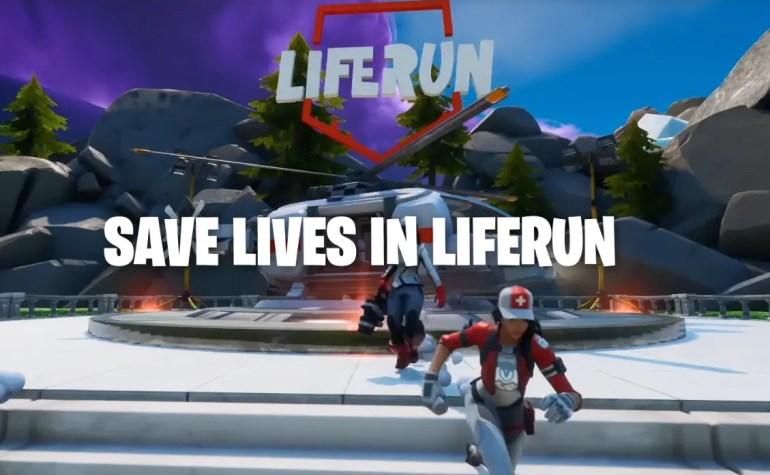 Liferun: la modalità di Fortnite per salvare vite e conoscere la Croce Rossa