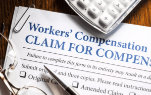 A claiming form for workers compensation