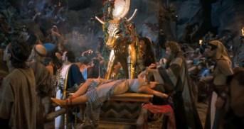 Image result for the ten commandments 1956 orgy scene