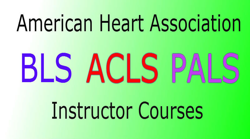 Emerg Blscprpalsacls Instructor Courses American Heart Association