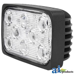WL840 - Work Lamp LED Rectangle Flood 2560 Lumens