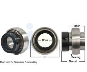 Bearings with Dimensions