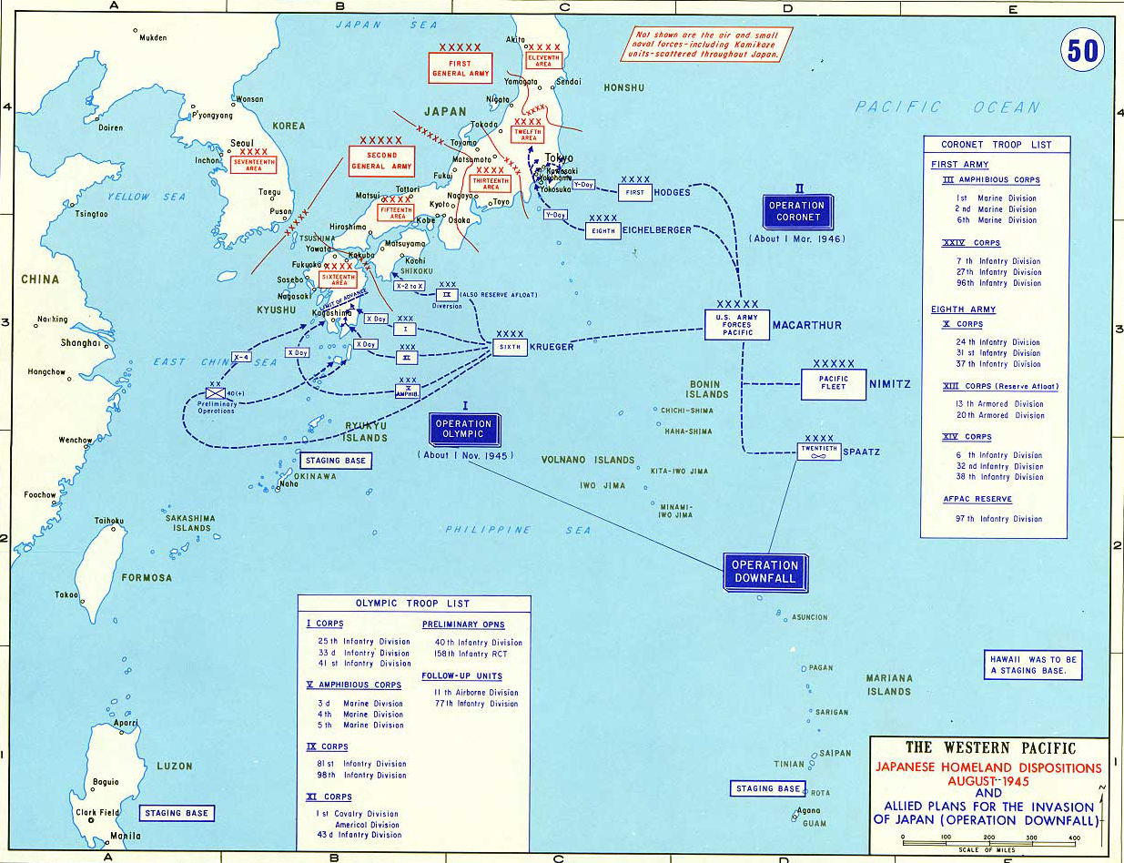 Map Of Wwii Japan