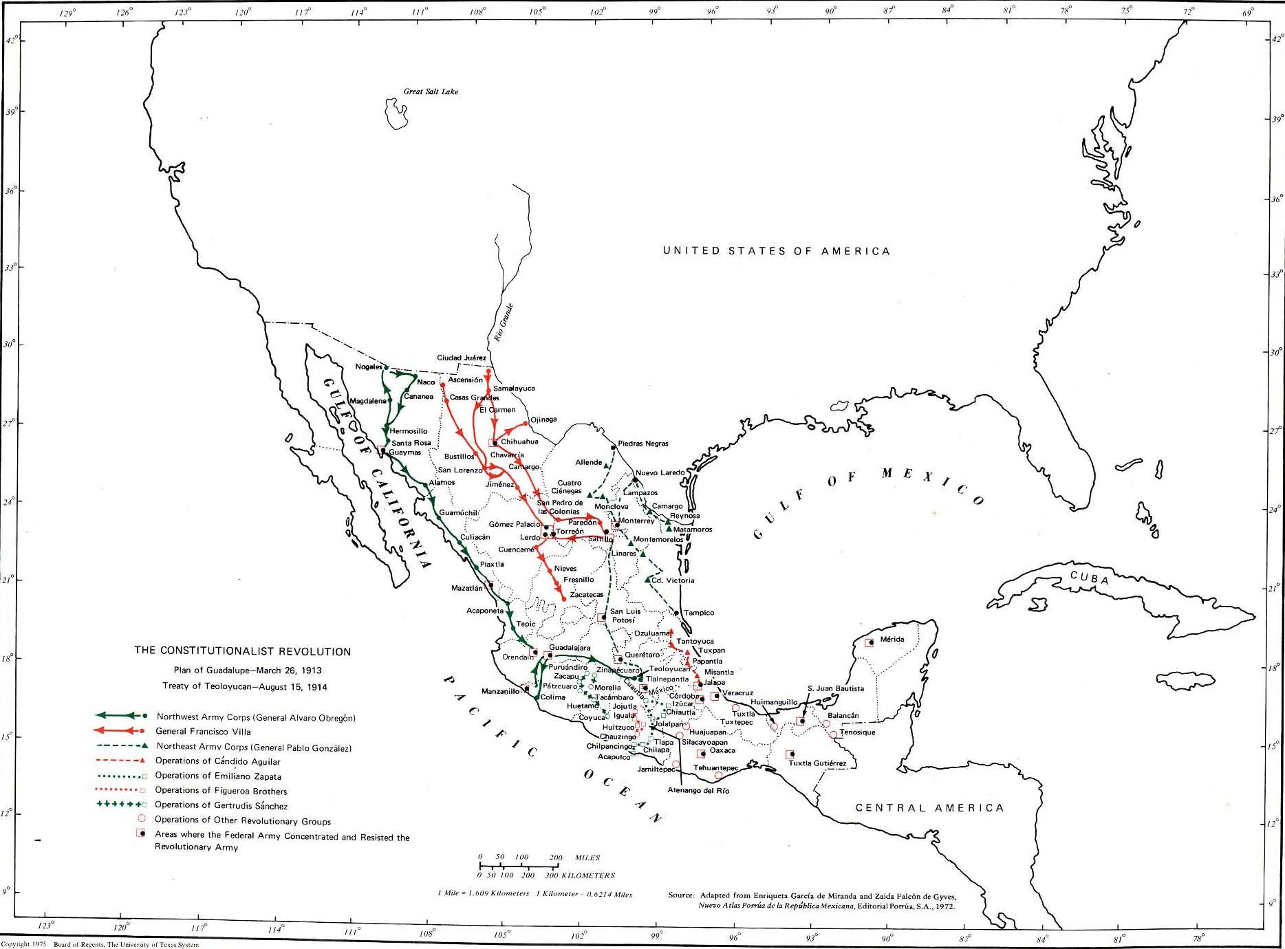 Mapa De D F