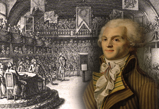 The Virtue of Terror - Maximilien Robespierre 1794