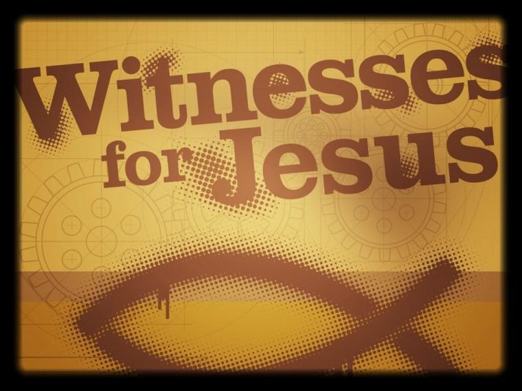 Seven Witnesses to Jesus Mission
