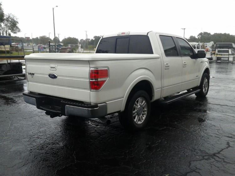 2009 2014 F150 5 5ft Used Undercover Lux Tonneau Cover