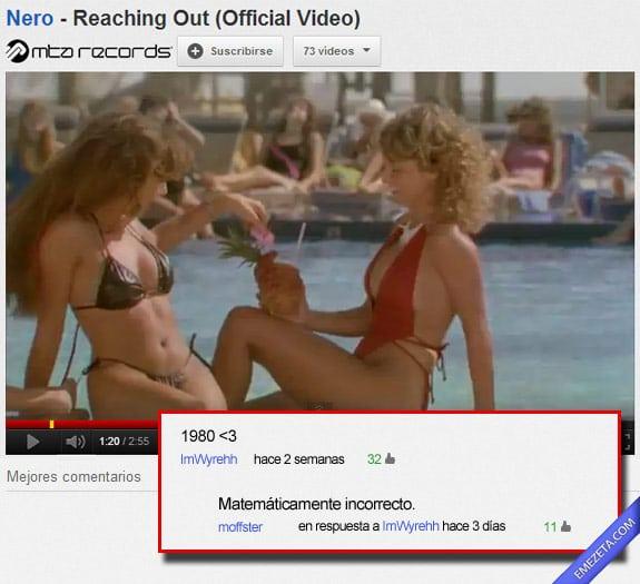 Los mejores comentarios de youtube: Matematicamente incorrecto