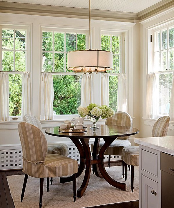 Cafe curtain inspiration for the dining room - Em for ... on Dining Room Curtains  id=49103