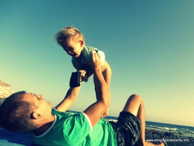 mai sus, tata, ridică-mă mai sus :D