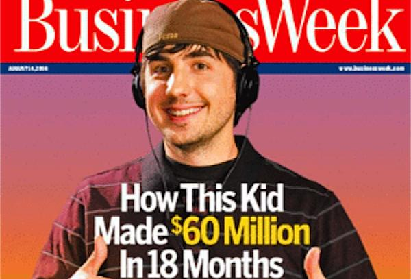 Kevin Rose en la portada de Business Week