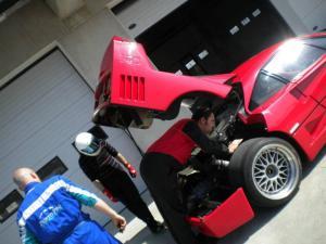 Ferrari challenge in Modena