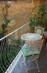 The lovely internal gardens of Antica residenza d'azelio