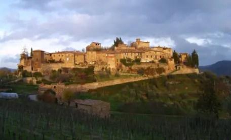 montefioralle winery Italy