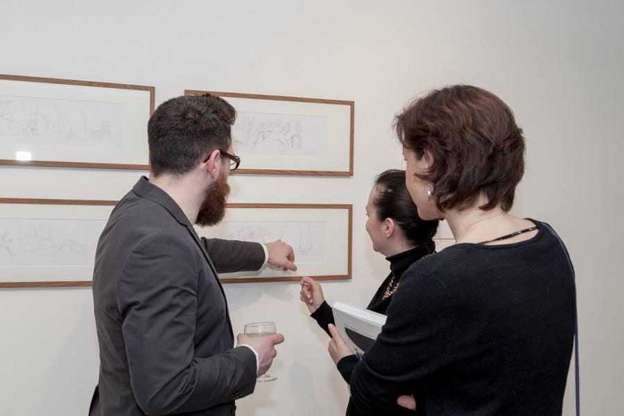 INFERNO EXHIBITION, February 25/March 21 2014, Berlin Italienisches Kulturinstitut [img 16]