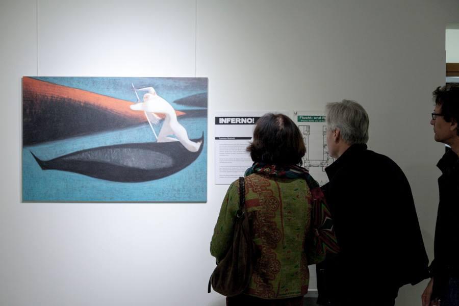 INFERNO EXHIBITION, February 25/March 21 2014, Berlin Italienisches Kulturinstitut [img 11]