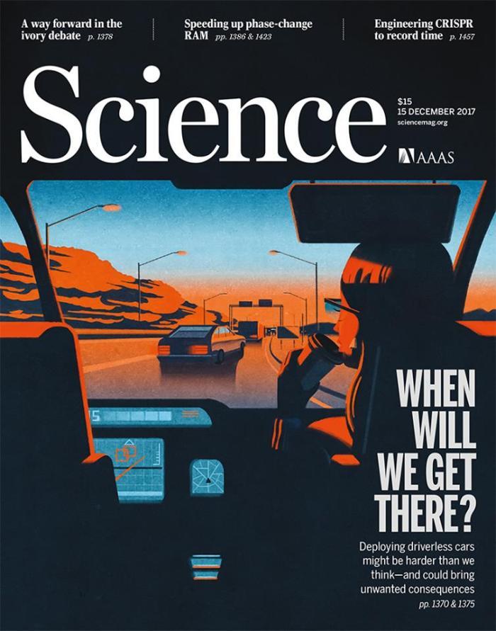 Science cover, Emiliano Ponzi