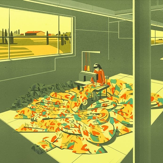The Chinese Workers Who Assemble Designer Bags in Tuscany, Emiliano Ponzi