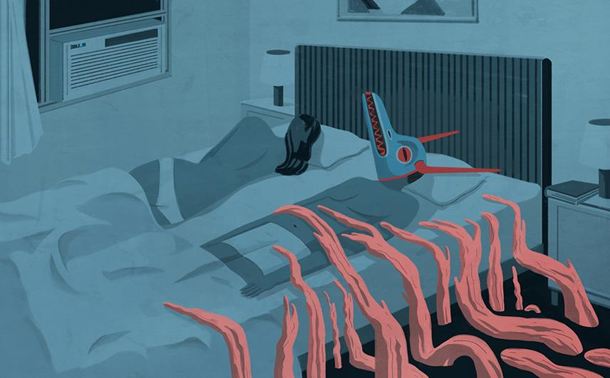 The Silence The Legacy of Childhood Trauma, Internazionale Emiliano Ponzi 2