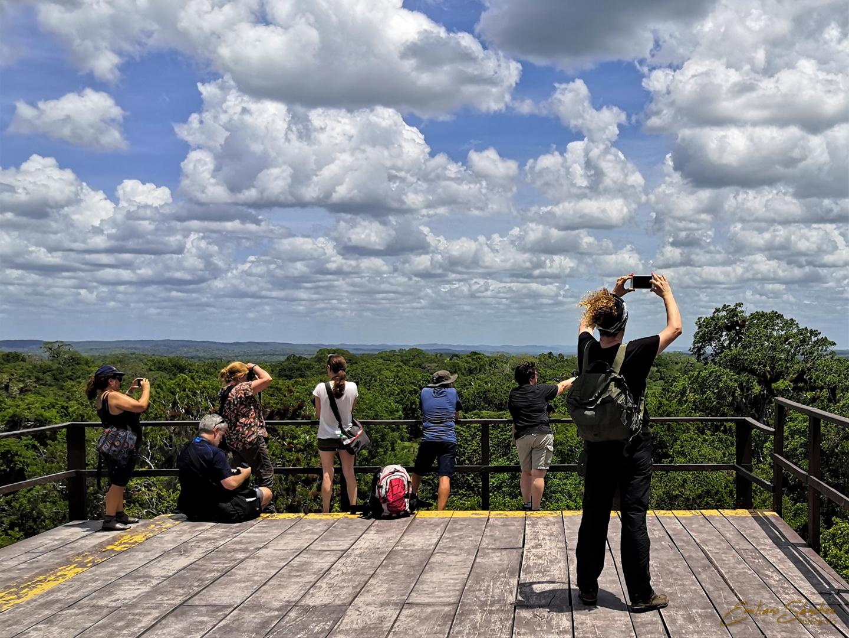 Viajeros de Guatemala en Tikal