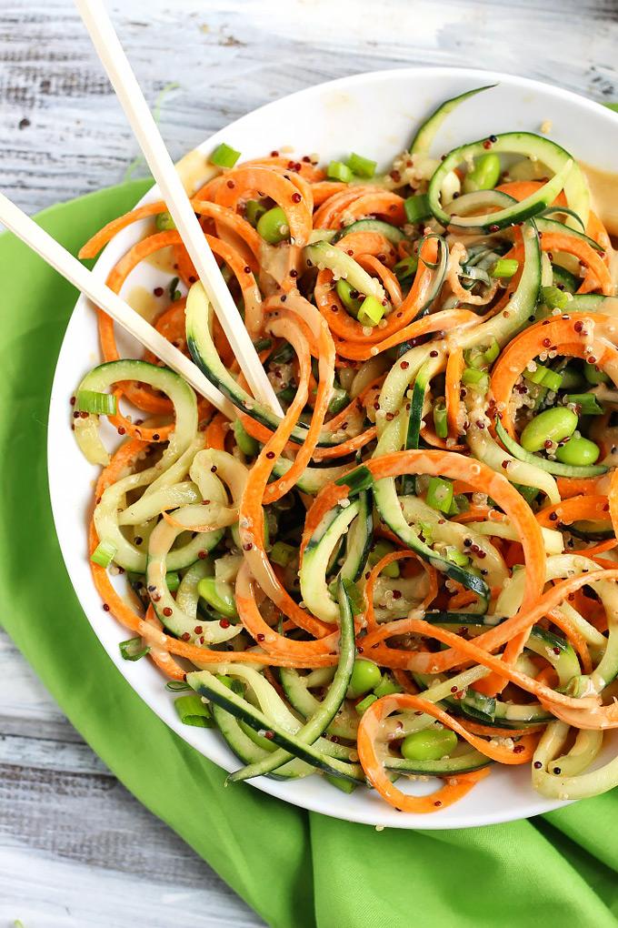 Asian peanut salad