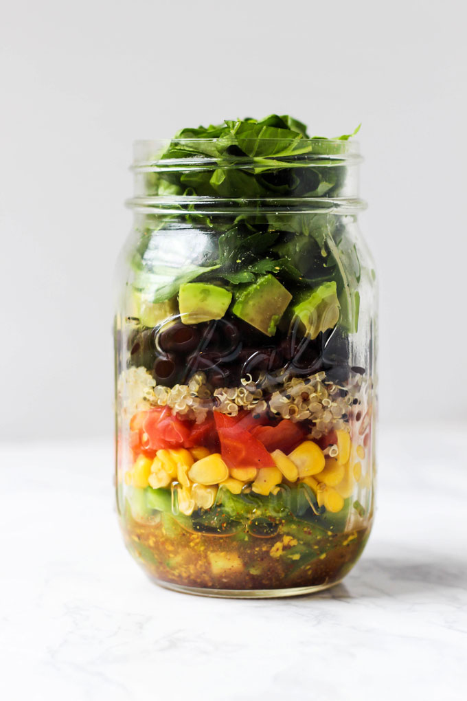 5 Vegan Mason Jar Salad Recipes Emilie Eats