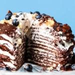 Vegan & Gluten-Free Chocolate Crepe Cake