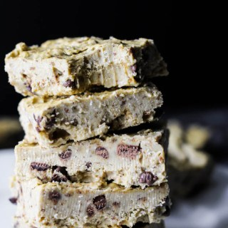 Chickpea Cookie Dough Fudge (vegan & gluten-free)